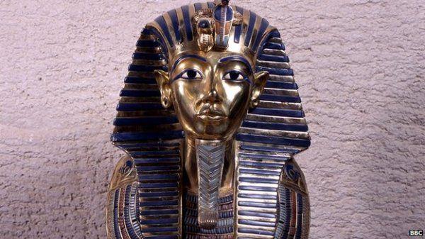 Tutankhamon halotti maszkja a világ legismertebb ókori műkincseinek egyike