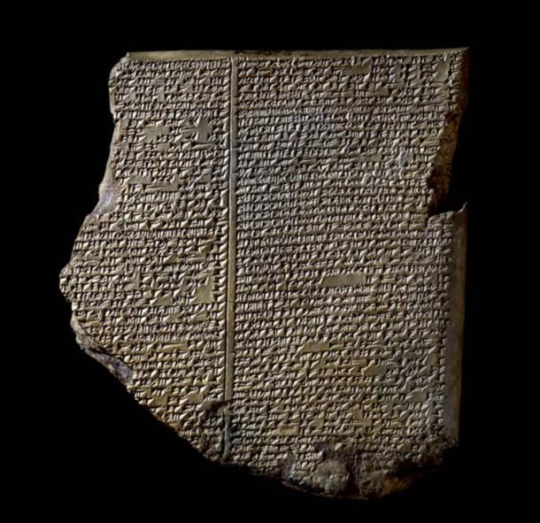 Egy asszír tábla Kr.e. 2800-ból, amely az első világvége-próféciát viseli. Photo: Assyrian Tablet from Nineveh, northern Iraq. Credit: The British Museum
