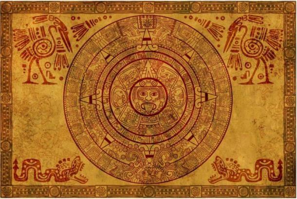 Egy pergamenen található maja naptár. Source: BigStockPhoto