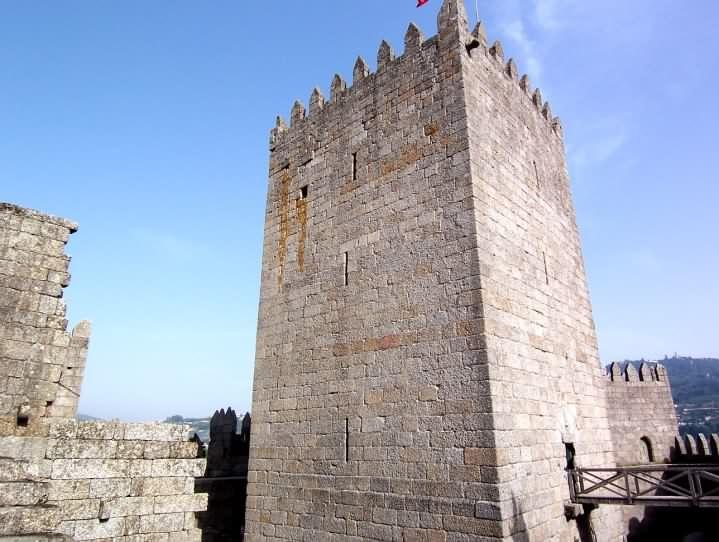 Guimaraes Castle, Portugália