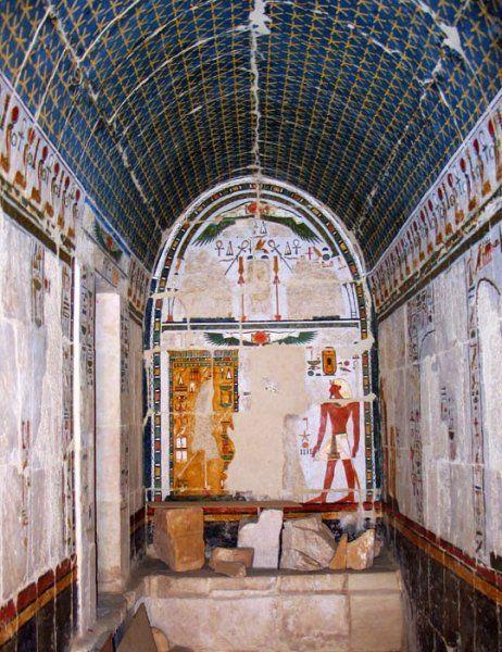 Anubisz szentélyének általános nézete. Credits: Polish Archaeological and Conservation Mission of the temple of Hatshepsut at Deir El-Bahari