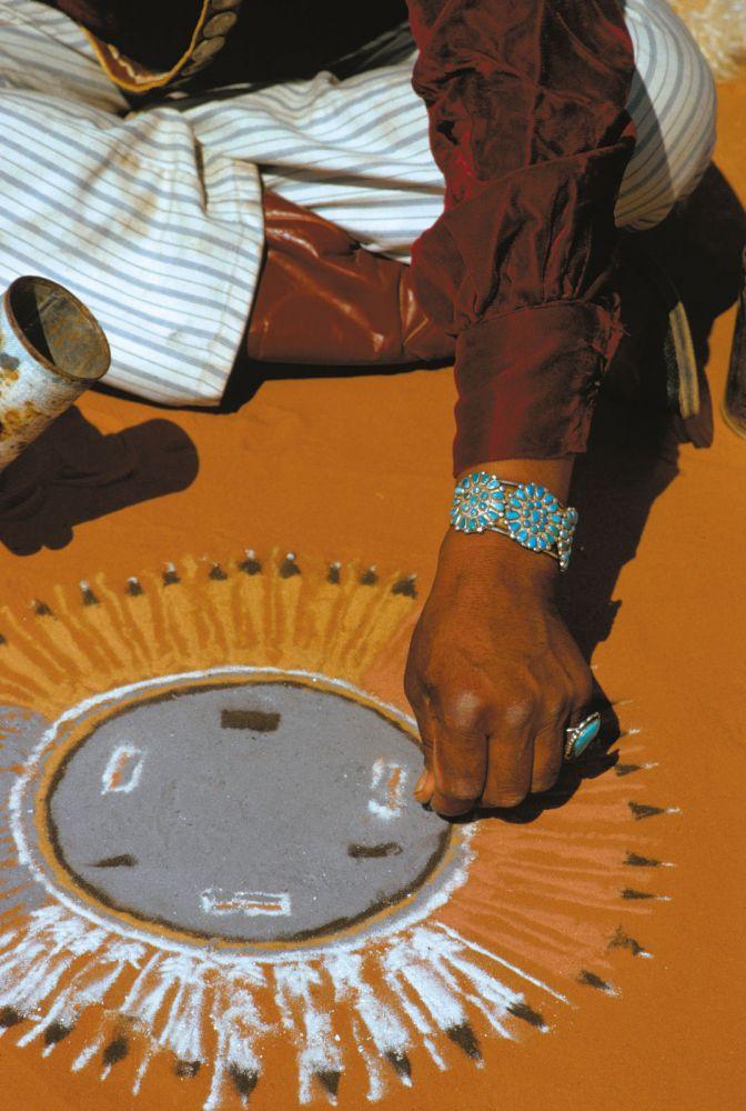 indián homokfestmények7