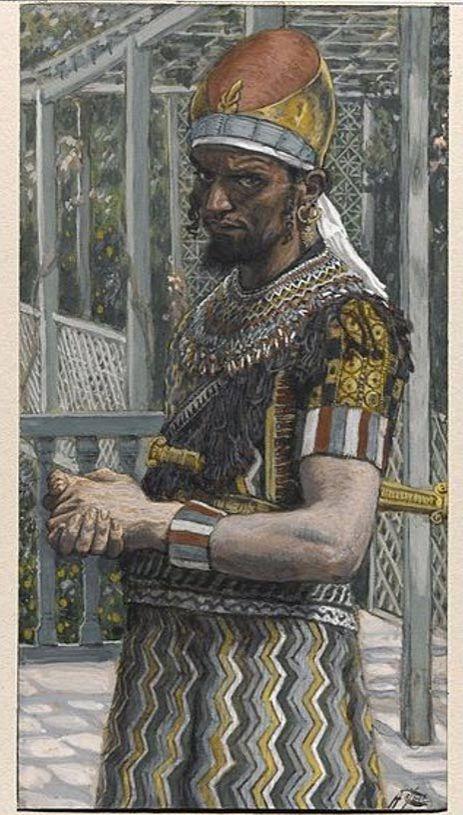 Heródes Antipász. A kép kb. 1883-ban készült. Public Domain