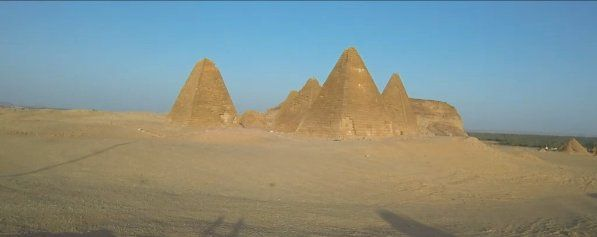 Ősi piramis Szudánban Image credit: National Geographic.