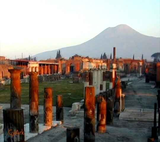 Az olaszországi Pompeii