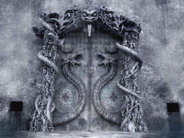 Az ősi legendák úgy beszélik, hogy a B termet kígyók védelmezik és csakis énekkel nyitható ki.