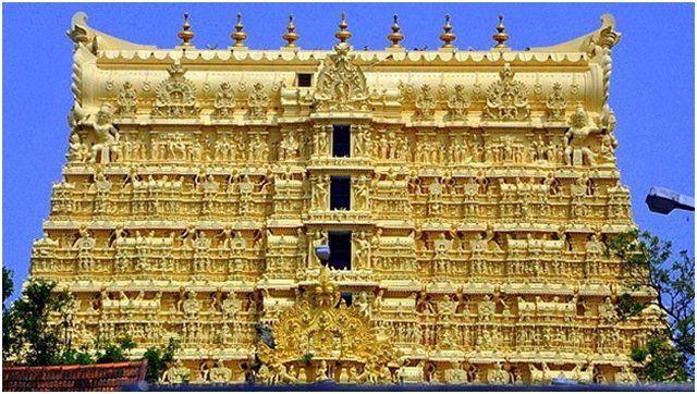 A lenyűgöző Padmanabhaswamy templom