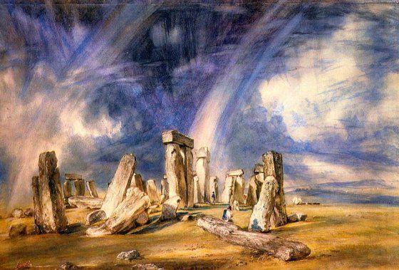Stonehenge – A képet 1836-ban készítette John Constable.