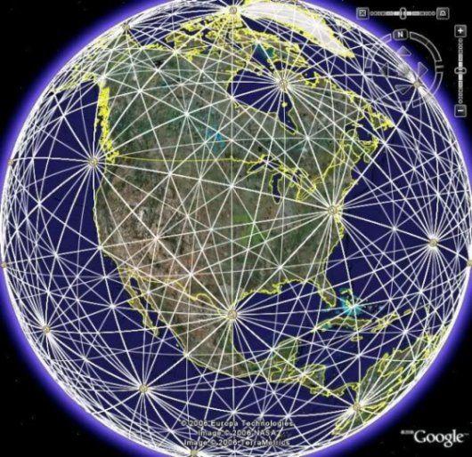 A Föld energiahálózata