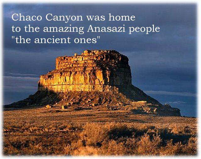 """Fajada Buttle Chaco Canyon; Márciusi napfelkelte Photo by: Morey Kitzman felirat: A Chaco Canyon a csodálatos anasázi nép, vagyis az """"ősök"""" otthona volt"""