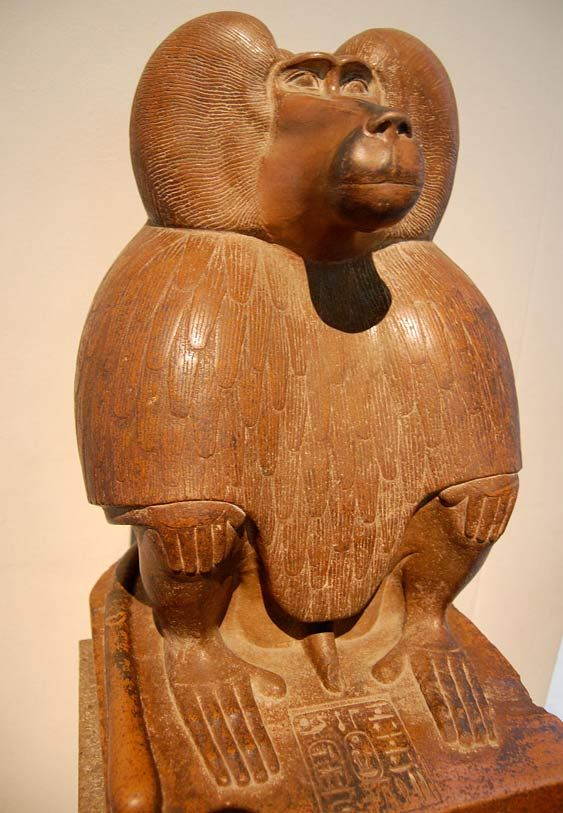Thot páviánként ábrázolva, Kr.e. 1400 körül ( CC BY-SA 3.0 )