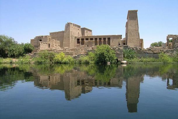 Philae temploma ( CC BY-SA 2.0 )