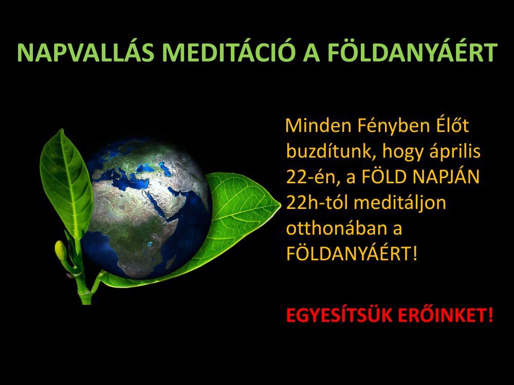 Meditáció a Földért