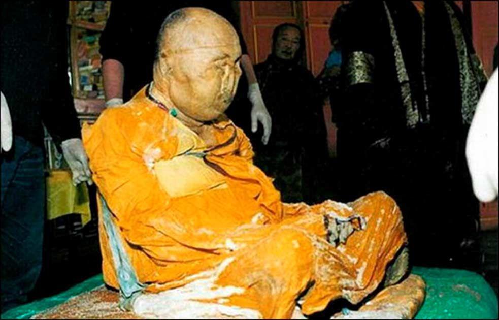 Néhányan régóta úgy gondolják, hogy a láma továbbra is életben van egy nirvánaszerű állapotban. Picture: The Siberian Times.