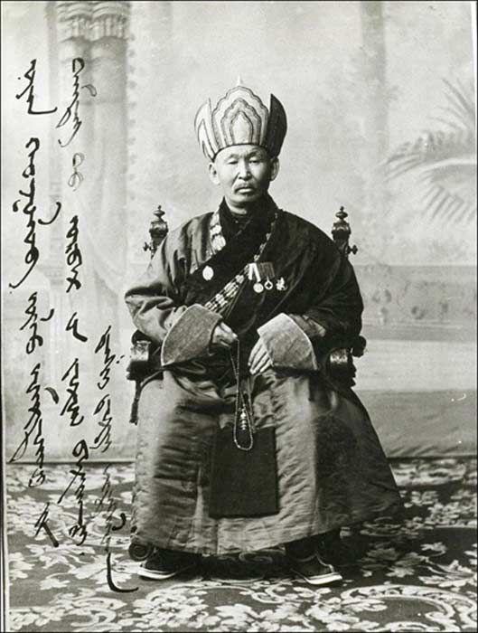 Az 1852-ben született Itigilov láma kiemelkedő szerepet játszott a cárpárti Oroszország spirituális életében a bolsevik forradalmat megelőzően. Picture: Sangha Russia