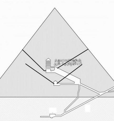 A Kheopsz piramis titkai: Az újonnan előkerült terem vajon egy vastrónt rejt?