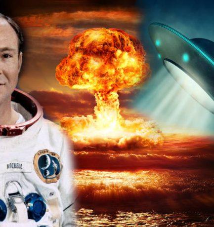 Az egykori űrhajós halála előtti vallomása: A földönkívüliek megakadályozták az atomháborút a Földön
