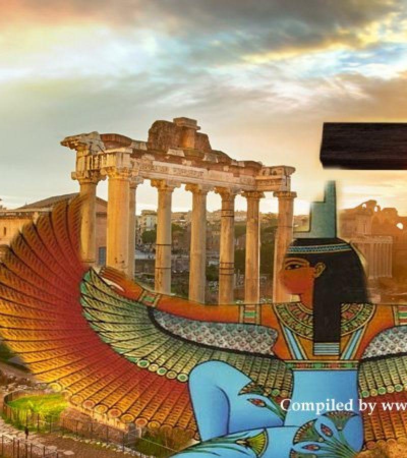 Az egyiptomi istenek csatája Rómáért: Ápisz és Ízisz kultusza a kereszténység ellen