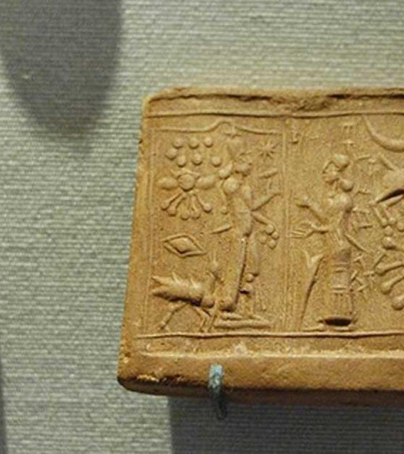 A világűrből érkező istenekkel összefüggő úgynevezett sumér pecsétek