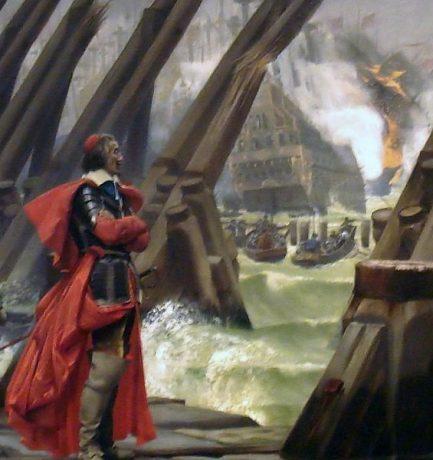 Richelieu bíboros, a Vörös Eminenciás, a francia történelem egyik legnagyobb politikusa