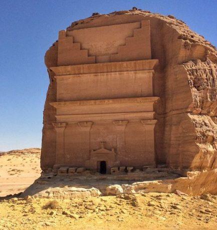 Mada'in Saleh: Pompázatos, időtlen, sziklába faragott sírok és emlékművek a sivatagban
