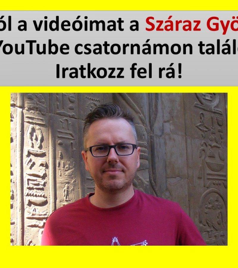 Új YouTube csatornám indult!